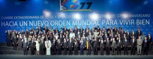Cumbre del G77+China traza hoja de ruta por un orden mundial más justo