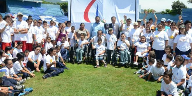 Fiesta nacional Paralímpica