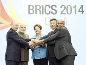 Brics buscan ampliar su acercamiento a Suramérica en cumbre en Brasil