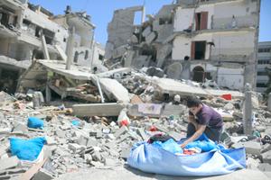 Ofensiva israelí contra áreas civiles viola la ley internacional