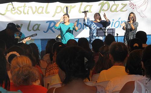 Penales celebra Festival por la paz y rehabilitación