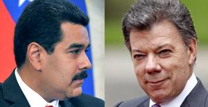 Presidentes de Colombia y Venezuela se reúnen con agenda centrada en contrabando
