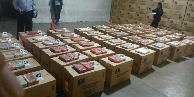 DAN incauta más de cien kilos de cocaína en frontera