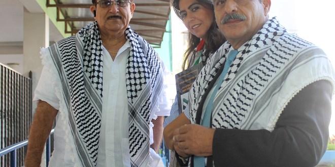 Palestinos respaldan viaje de Sigfrido reyes