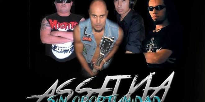 """Assfixia prepara lanzamiento  de disco en el """"Circus Pit"""""""