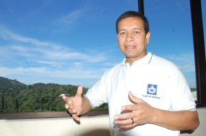 Mario Meléndez, Alcalde del Municipio de Panchimalco. Foto Diario Co Latino/Juan Carlos Villafranco