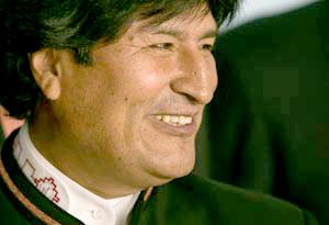 Rituales andino-amazónicos marcarán investidura de Evo Morales