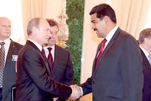 Rusia y Venezuela ratifican relaciones estratégicas a largo plazo