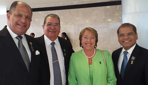 Vicepresidente Ortiz participa en investidura de presidenta Dilma Rousseff