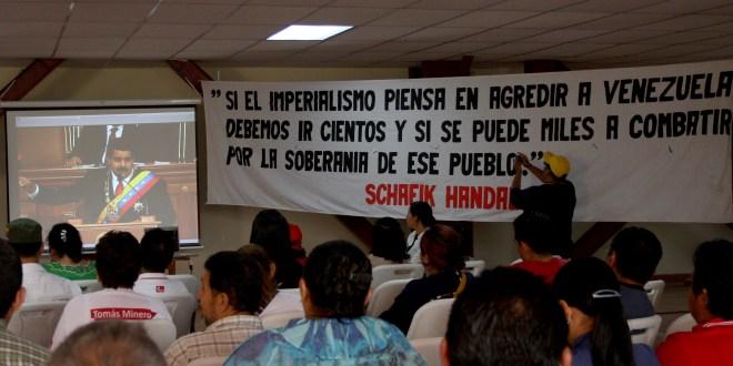 """Jornada solidaria a víctimas  de las """"Guarimbas""""en Venezuela"""