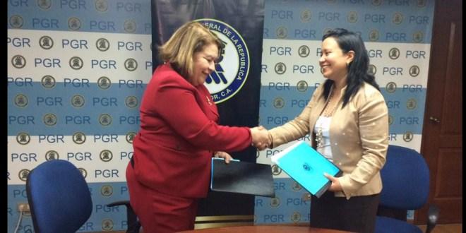 PGR y TC Partners El Salvador firmaron un acuerdo bilateral  en su lucha contra la violencia en el país