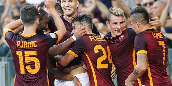 Roma vence a la Juventus y se  ubica en las primera posiciones