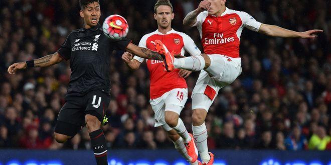 Arsenal y Liverpool empatan sin goles
