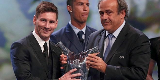 Messi mejor jugador de Europa y Barça con grupo accesible