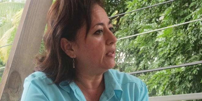 """""""El agua no es una mercancía, es un derecho humano"""": Xenia Marroquín"""