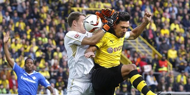 Dortmund tropieza antes del gran duelo con Bayern