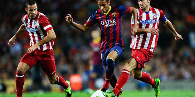 El Atlético de Madrid recibe al Barcelona en duelo de campeones