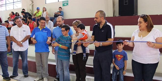 Inauguran Gimnasio Enrique Samour