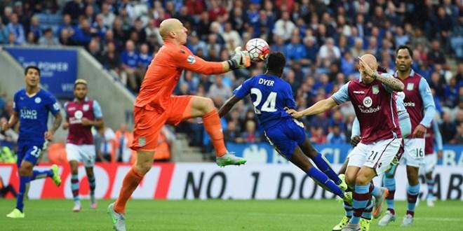 El Leicester remonta al Aston Villa y sigue invicto en la Premier