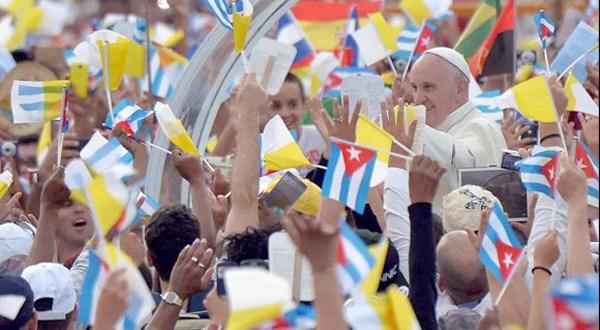 El papa llega a Holguín, cuna del cristianismo cubano
