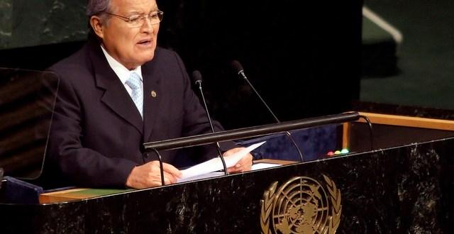 Presidente Sánchez destaca figura de beato Romero en Cumbre de la ONU