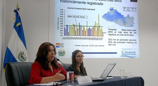MARN : Fenómeno del Niño impacta con las sequías meteorológicas