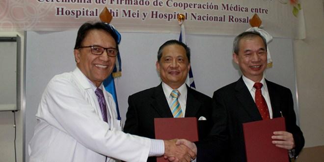 Hospitales Rosales y Chi Mei  firman convenio de cooperación médica