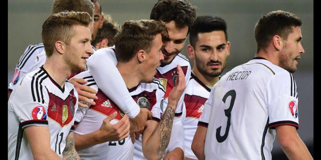 Alemania cumple, Polonia y Rumania retornan