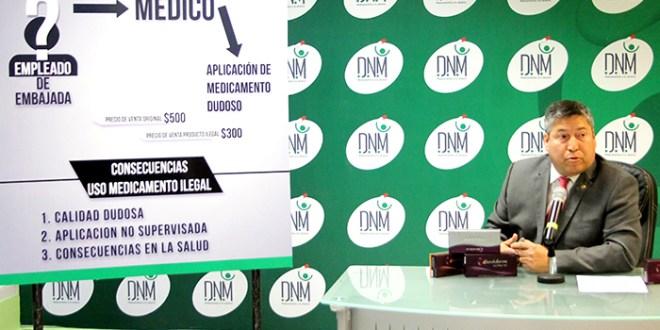Dirección de Medicamentos denuncia venta ilegal de Juvederm Ultra 4