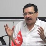 Medardo Gonzalez, Diputado y Secretario General del FMLN.  Foto Diario Co Latino