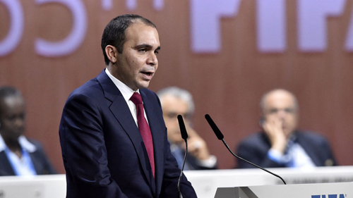 Al Hussein pide posponer las elecciones de la FIFA