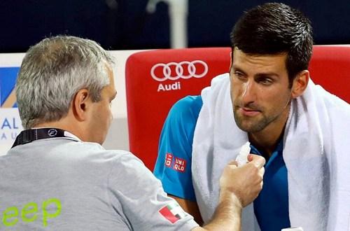 Djokovic se retira de Dubai y sufre primera derrota en 2016