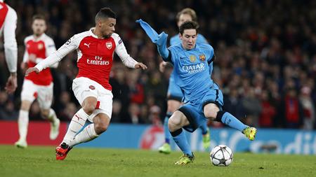 Barcelona quiere sellar pase a cuartos con gran partido ante Arsenal