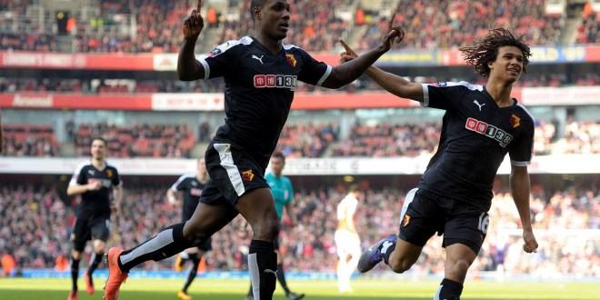Watford da la sorpresa y elimina  al Arsenal de la Copa inglesa