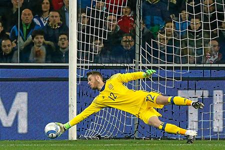De Gea pone cara la titularidad del arco de la selección española