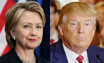 Clinton y Trump ganan en grande y se acercan a nominación presidencial en Estados Unidos
