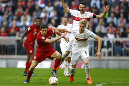 Bayern quiere mantener a raya al Dortmund en su visita a Stuttgart
