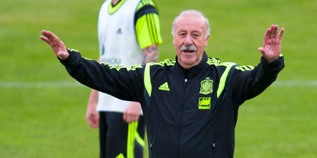 Del Bosque defiende la «hegemonía del fútbol español» en Europa