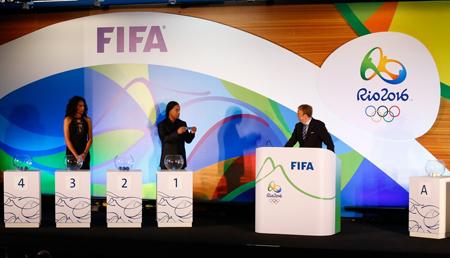 Brasil jugará con Sudáfrica, Irak y Dinamarca en Río 2016