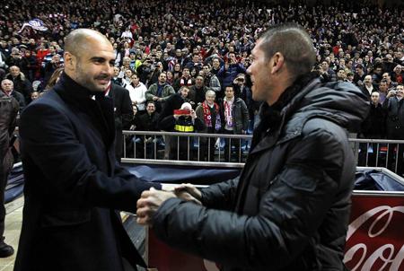 Simeone y Guardiola: tan parecidos, tan diferentes