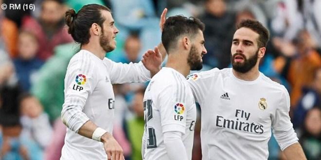 Real Madrid golea al Getafe y redobla presión sobre sus rivales