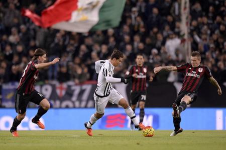 Juventus inicia ante el Milan el sprint final por el «Scudetto»