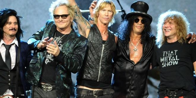 Guns N' Roses se reúne tras 20 años con concierto sorpresa en Los Ángeles