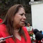 Nidia Díaz, diputada y dirigente del FMLN, afirma que el partido de izquierda está comprometido con la reconciliación nacional. Foto Diario Co Latino / Ricardo Segura