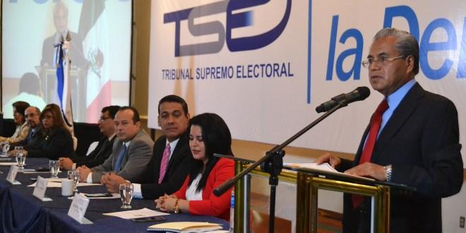 TSE: hacer público el financiamiento de los partidos políticos  contribuye a la transparencia