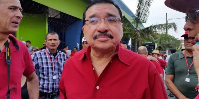 FMLN acompaña lucha de clase trabajadora
