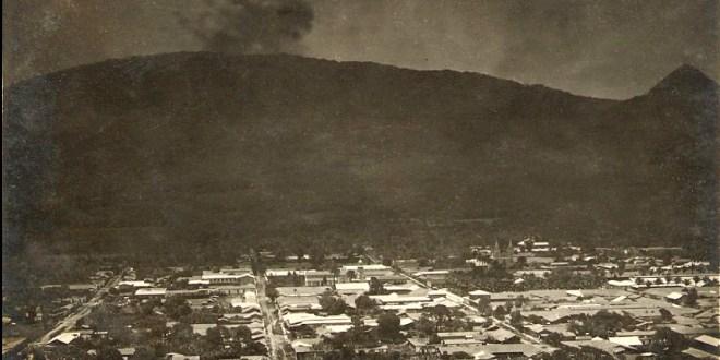 A 99 años de la erupción  del volcán de San Salvador
