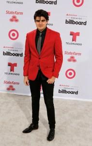 Singer Jonathan Moly arrives at the 2015 Latin Billboard Awards in Coral Gables