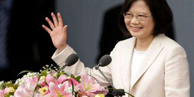 Presidenta de Taiwán,  Tsai Ing-wen, llega hoy al país