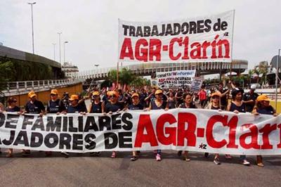 Trabajadores gráficos argentinos cumplen tercera semana en protesta